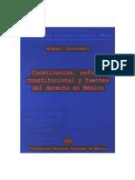 73 - Constitución, reforma constitucional y fuentes del derecho de México - Miguel Carbonell Sánchez.pdf