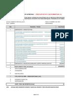 Resumen Presupuesto General - Huacrapuquio