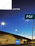 Cable Suspended LED Street Light - DEO Lighting
