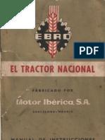 Manual Ebro Diesel 1960