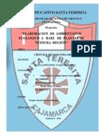 ELABORACION  DE  AMBIENTADOR   ECOLOGICO  A   BASE   DE  PLANTAS DE  NUESTRA  REGIÓN CAJAMARCA PERU.docx