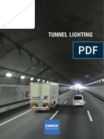 Asymmetric LED Tunnel and Underpass Light - DEO Lighting