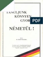 Dr Ernst Häckel - Tanuljunk könnyen gyorsan németül