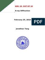 Tang Jonathan XRD
