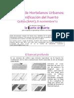 Apuntes Escuela Hortelanos Urbanos Planificaciones