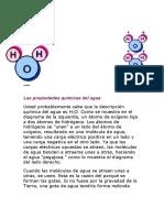 Las propiedades químicas del agua.docx