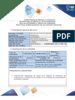 Guía de Actividades y Rubrica de Evaluación - Tarea 5