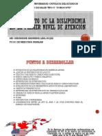 Manejo de Dislipidemia en e Primer Nivel de Atención 2018