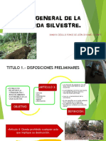 Ley General de La Vida Silvestre