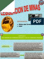 Legislacion Ley de Mineria...