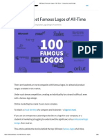 100 Most Famous Logos of All-Time - Company Logo Design.pdf