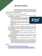 Tecnicas estero.docx