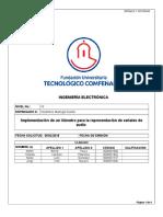 Informe de Laboratorio Vumetro Digital