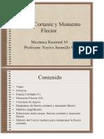 Fuerza Cortante y Momento Flector - PDF.pdf