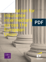 EY Regulation for Insurance Intermediaries Across the EU