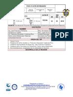 ACTA de REUNION Proyecto Gas Domiciliario Queja- 2019