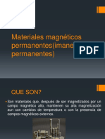 Materiales Magnéticos Permanentes imanes Permanentes