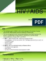 Management of HIV/AIDS by Dr Gireesh Kumar K P, Department of Emergency Medicine, Amrita Institute of Medical Sciences, Kochi, Kerala