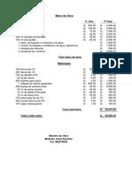 presupuesto 310319