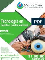 Tecnologia en robotica y automatización