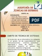 Auditoria de Tecnicas de Sistemas