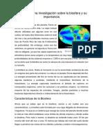 2.3 Realiza Una Investigación Sobre La Biosfera y Su Importancia(Jaziel HDZ Najera)