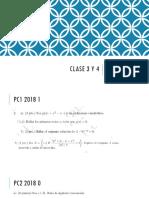 Clase 3 y 4 2019 1