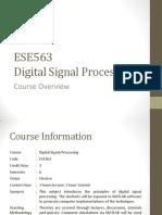 ESE563 - Week 1 (Concepts)