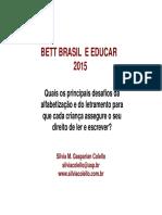 Silvia Colello Bett Educar Conteudo 2015