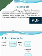 4.1 Assembler Basics
