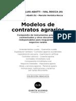 Modelos Contratos Agrarios 2019