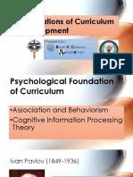 Foundations of Curriculum Development