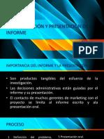 5.5 Preparación y Presentación de Informe