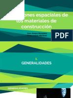 SEMINARIO - CONSTRUCCIONES ESPACIALES