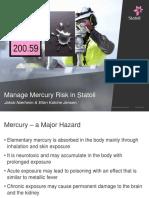3b Manage Risk of Mercury Exposure