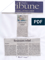 Daily Tribune, May 20, 2019, Restroom relief.pdf