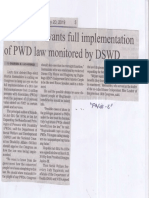 Manila Bulletin, May 20, 2019, Leyte solon wants full implementation of PDW law monitored by DSWD.pdf