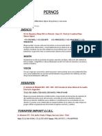 PERNOS-ARANDELAS-ACERO-PERFIL ESTRUCTURAL.docx