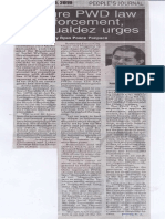 Peoples Journal, May 20, 2019, Ensure PWD law enforcement, Romualdez urges.pdf