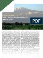The Chagga Homegardens