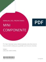 manual de equipo de sonido lg cj45