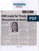 Philippine Daily Inquirer, May 20, 2019, CHR ready for frank factual dsicussions on death penalty.pdf
