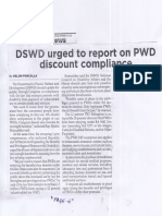 Philippine Star, May 20, 2019, DSWD rged to report on PWD discount compliance.pdf