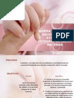 Atencion de Salud Materna