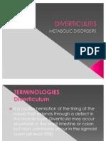Diverticulitis Slides