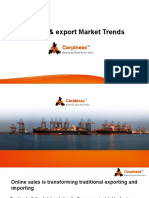 import-export market trends