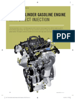 Three Cylinder Gasoline Engine