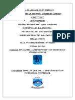 1526661917309 Study Paper of Bbah 6th Sem on Profitability of Britannia Industries Ltd.