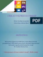 Retno  tanding_creativepreneurship.pptx