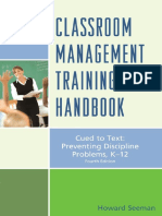 Classroom Management Training Handbook - Seeman, Howard [SRG].pdf